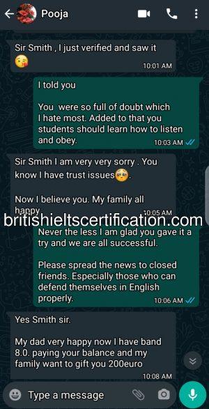 ielts without exam testimonials